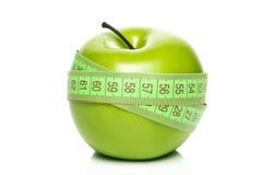 苹果绿的评定 图库摄影