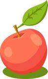 苹果eps例证JPG红色向量 免版税库存照片