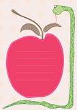苹果eps保护蛇 库存照片