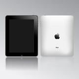 苹果ipad个人计算机片剂接触 免版税库存照片