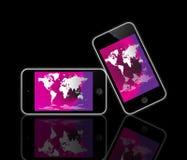 苹果iPod接触 图库摄影