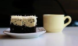 茂物分层了堆积芋头蛋糕 免版税图库摄影