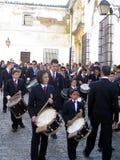 范围复活节赫雷斯音乐西班牙 免版税库存图片