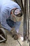 范围焊工 图库摄影