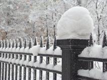 范围雪 免版税库存图片