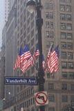 范德比尔特大道 免版税库存照片