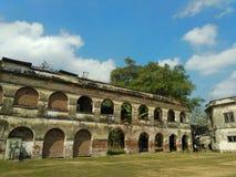 范登博斯城堡 Ngawi,印度尼西亚 图库摄影