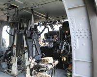 范围运输直升机黑色鹰 免版税图库摄影