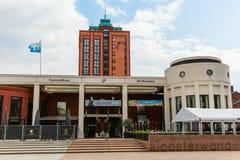 范der Valk Theaterhotel De Oranjerie在鲁尔蒙德,荷兰 免版税库存照片
