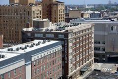 范Vleet Flats公寓,街市孟菲斯, TN 库存图片