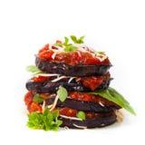 茄子开胃菜 库存图片