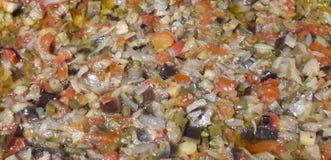 茄子开胃菜 库存照片