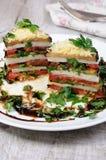 从茄子的开胃菜 免版税库存照片