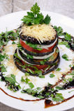 从茄子的开胃菜 库存照片