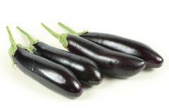茄子紫色 免版税图库摄影