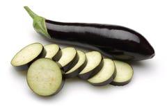 茄子花蔬菜叶 图库摄影