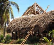 茅屋顶大厦在古巴 库存图片