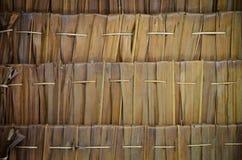 茅草屋顶样式 免版税图库摄影
