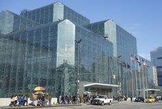 贾维茨会议中心在曼哈顿 免版税库存图片
