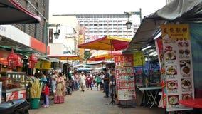 茨厂街是位于吉隆坡,马来西亚的唐人街 股票视频