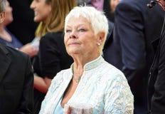 茱蒂Dench贵妇人 库存图片