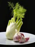 茴香大蒜 库存图片