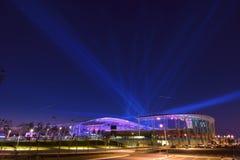 茵契隆亚运会主要体育场 免版税库存照片