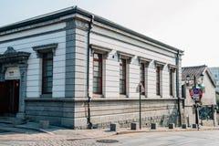 茵契隆开放口岸现代建筑学博物馆在韩国 图库摄影