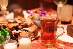 茶Сup  免版税库存照片