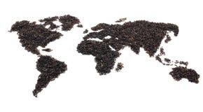茶世界 库存照片