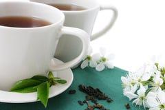 茶二 免版税库存照片