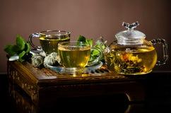 茶具 免版税图库摄影