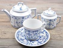 茶具 免版税库存照片
