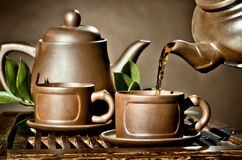 茶具 库存照片