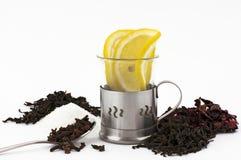 茶准备 免版税库存照片