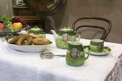 茶几- 19世纪 免版税库存图片