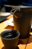茶在大阪 免版税库存照片