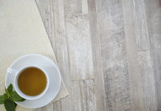 茶在表的 免版税库存图片