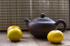 茶壶和普通话 库存图片