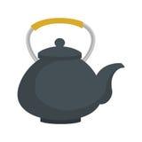 茶壶热的饮料日本象图表 免版税库存图片