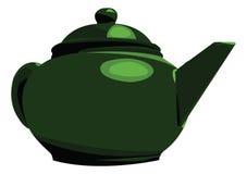 茶壶 库存例证