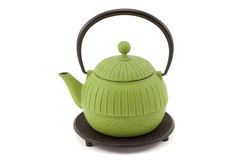 茶壶trivet 免版税库存照片