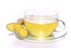 茶姜 免版税库存照片