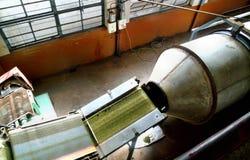 茶工厂 免版税库存图片