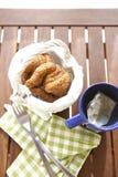 茶早餐 库存图片