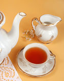 茶时间 库存图片