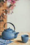 茶时间亚洲方式 库存图片