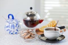 茶时间 图库摄影