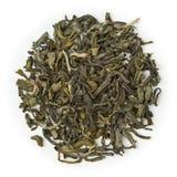 绿茶有机茉莉花 免版税库存图片
