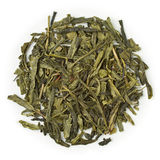 绿茶有机Sencha中国 免版税库存照片